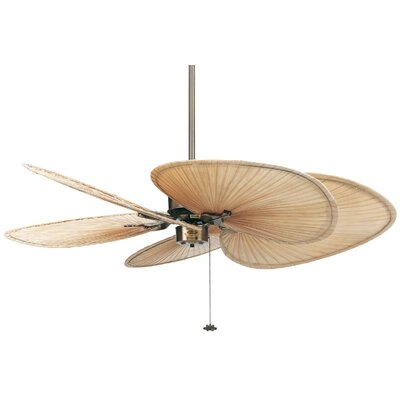 "Fanimation 52"" Islander 5 Palm Blade Ceiling Fan"