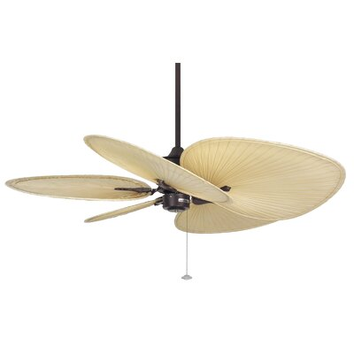 "Fanimation 52"" Islander 5 Palm Blade Ceiling Fan (Set of 5)"