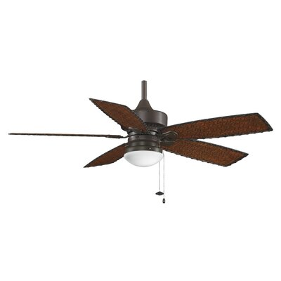 "Fanimation 52"" Cancun 5 Blade Outdoor Ceiling Fan"