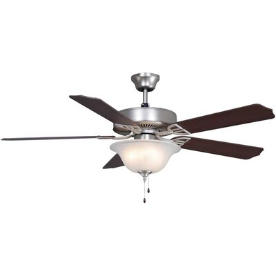 Fanimation Aire Decor Builder Series 5 Blade Ceiling Fan with Bowl Kit