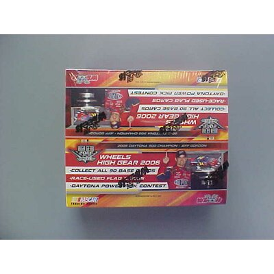 Press Pass NASCAR 2006 Wheels High Gear Racing Playing Cards (20 Packs)