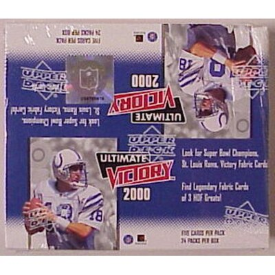 NFL 2000 Ultimate Victory Wall Cards (Set of 24)