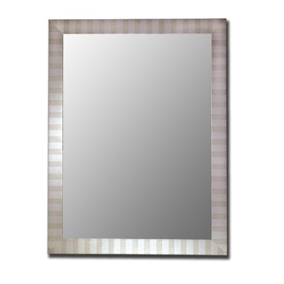 Hitchcock Butterfield Company Marquee Mirror in Parma Silver
