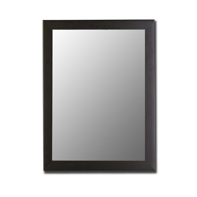 Highland Mirror in Satin Black