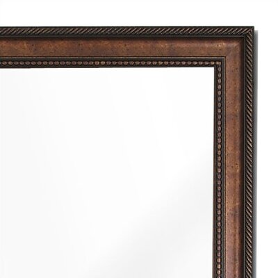 Hitchcock Butterfield Company Designers Choice Antique Italo Copper Mirror