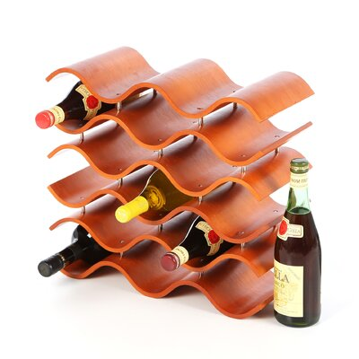 Oenophilia Bali 15 Wine Rack, Spiced Pumpkin