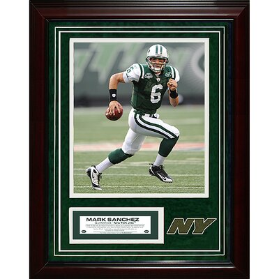 Steiner Sports New York Jets Mark Sanchez Turf Collage