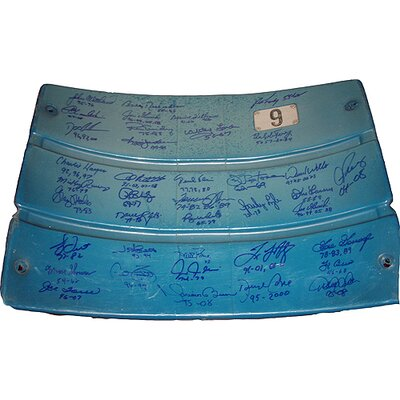 Steiner Sports Authentic Seatback from The Original Yankee Stadium with 39 Signatures