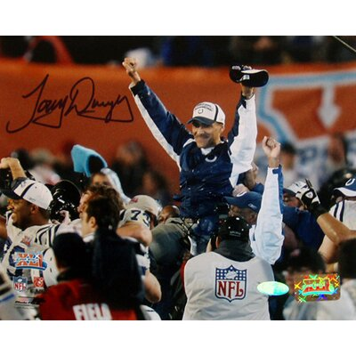 Tony Dungy SB XLI Carry Off Autographed 8