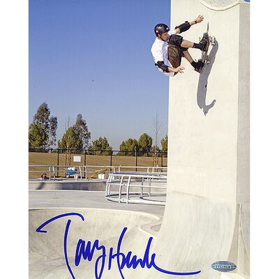 "Steiner Sports Tony Hawk Autographed Up The Wall 8"" x 10"" Photo"