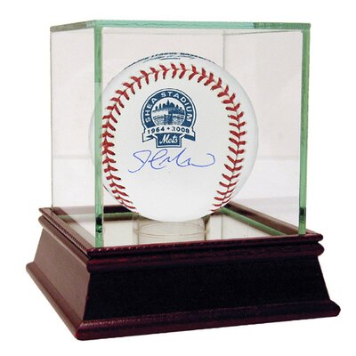 MLB John Maine Shea Stadium Commemorative Autographed Baseball