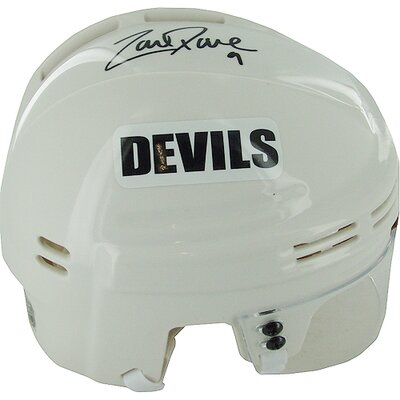 Steiner Sports NHL Zach Parise Autographed White Devils Mini Helmet