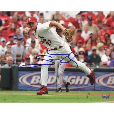 Steiner Sports MLB Scott Rolen Fielding Autographed