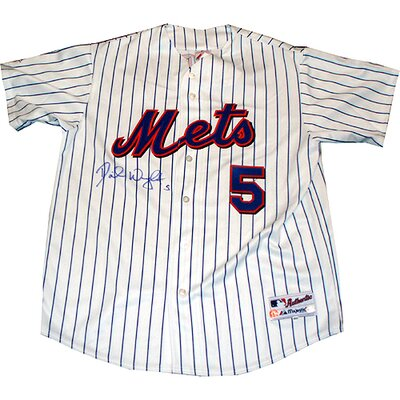 Steiner Sports David Wright New York Mets Authentic Home Pinstripe Jersey (MLB Auth)
