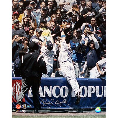 Steiner Sports David Wright Dive Into The Stands Autographed Photograph