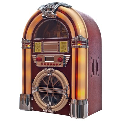 Northwest Juke Box with AM / FM, CD, MP3 and Flashing Lights