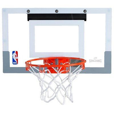 "Spalding NBA Slam Jam 18"" Mini Basketball Hoop"