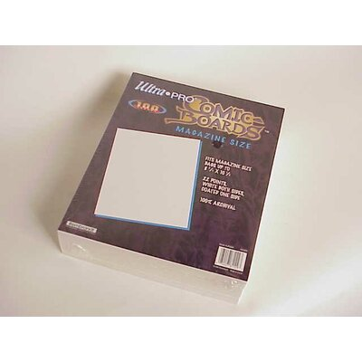 Image Guard Magazine Size Comic Backing Board