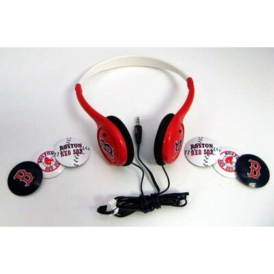 NES Group MLB Head Headphones with Detachable Graphic Discs