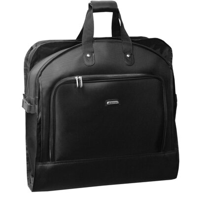 "Wally Bags 45"" Mid Length Nylon Black Garment Bag"