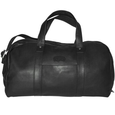 "Pangea Brands NBA 18"" Leather Corey Travel Duffel"
