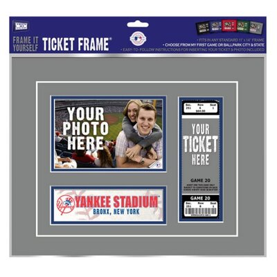 "That's My Ticket MLB My First Game Ticket Frame ""Frame It Yourself"""