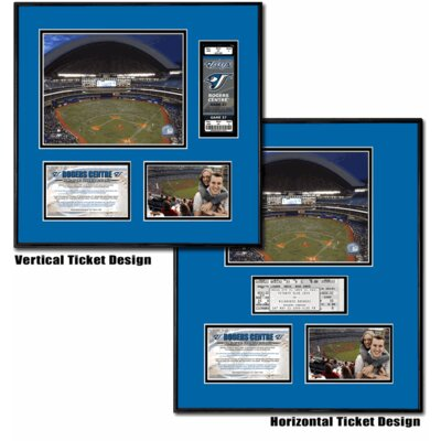 That's My Ticket MLB Rogers Centre - Ballpark Ticket Frame - Toronto Blue Jays