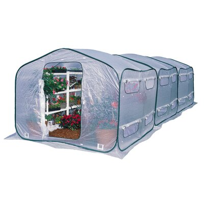 Flowerhouse Dreamhouse Polyethylene Greenhouse