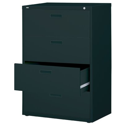 "CommClad 30"" Wide 4 Drawer  HL1000-Series Lateral File Cabinet"