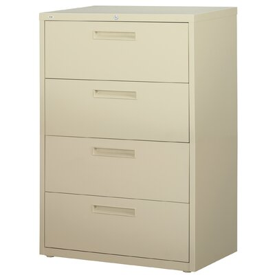 "CommClad 36"" Wide 4 Drawer HL5000-Series Lateral File Cabinet"