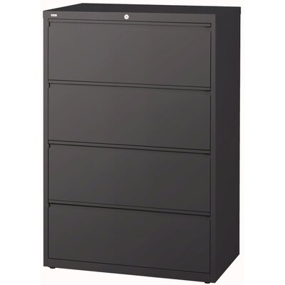 "CommClad 36"" Wide 4 Drawer HL10000-Series Lateral File Cabinet"