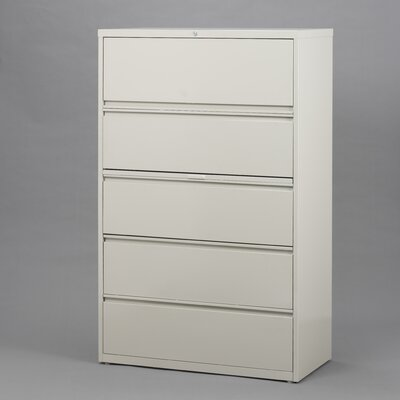 "CommClad 30"" Wide 5 Drawer Lateral File Cabinet"