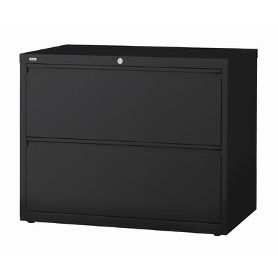 "CommClad 42"" Wide 2 Drawer HL10000-Series Lateral File Cabinet"