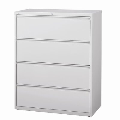 "CommClad 42"" Wide 4 Drawer HL10000-Series Lateral File Cabinet"