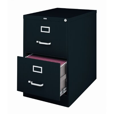 "CommClad 26.5"" Deep Commercial 2 Drawer Legal Size High Side Vertical File Cabinet"