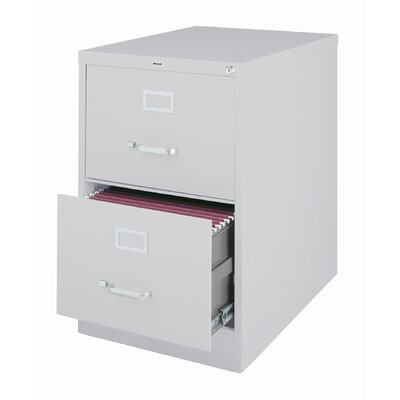 "CommClad 25"" Deep Commercial 2 Drawer Legal Size High Side Vertical File Cabinet"