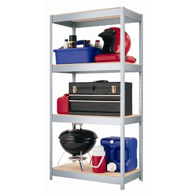 "CommClad 1000 Series 60"" H Four Shelf Shelving Unit"