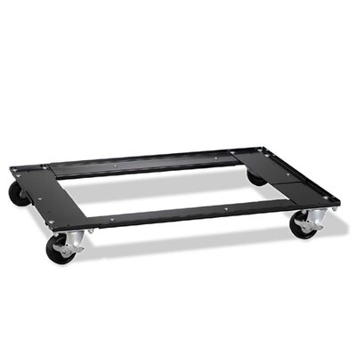 "CommClad Commercial Cabinet Dolly, 5-1/2""x27""x5-1/2"", Black"