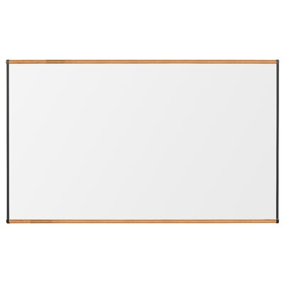 "CommClad 48"" x 72"" Thermal-Fused Melamine Whiteboard with Trim"