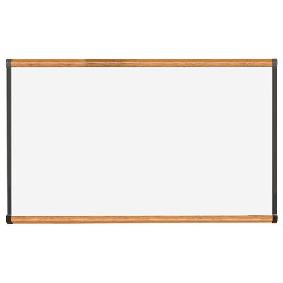 "CommClad 36"" x 48"" Thermal-Fused Melamine Whiteboard with Trim"