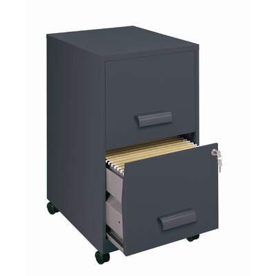 CommClad 2 Drawer Mobile File in Graphite