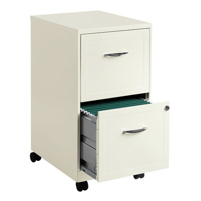 "CommClad 18"" 2-Drawer Steel File Cabinet"