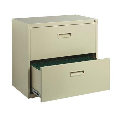 CommClad Soho 2-Drawer  File Cabinet