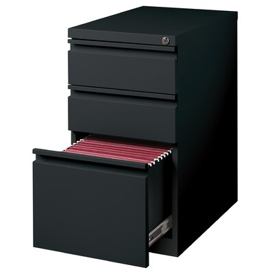 "CommClad Mobile Pedestal 23"" Box/Box/File"