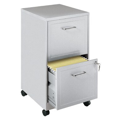 CommClad 2-Drawer  Mobile File Cabinet