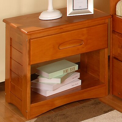 Discovery World Furniture Weston 1 Drawer Nightstand