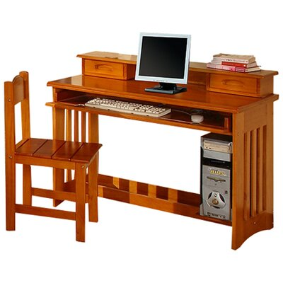 <strong>Discovery World Furniture</strong> Weston Writing/ Computer Desk