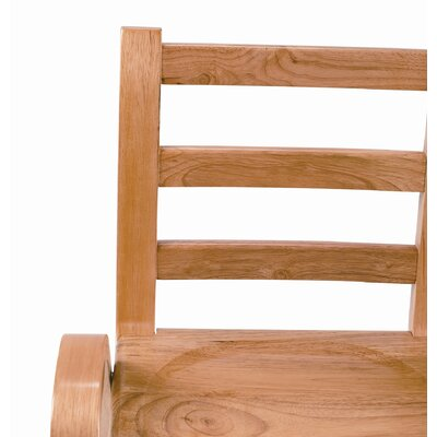 "Angeles 7"" Wood Classroom Stacking Chair"