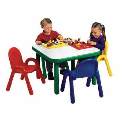 Angeles Preschool Square Table and Chair Set