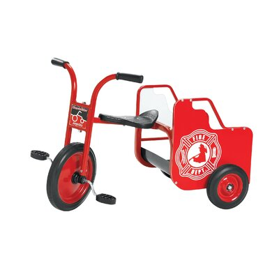 Angeles ClassicRider Fire Truck Tricycle